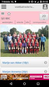 Damesvoetbal screenshot 1