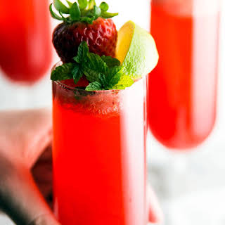 Strawberry Lime Cocktail Recipes.