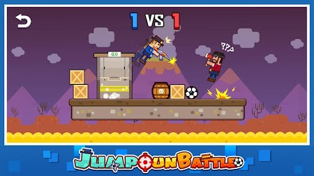 Jump Gun Battle APK screenshot thumbnail 4