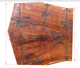 Photo: for more info, see this blog post .. http://dorsetcustomfurniture.blogspot.com/2016/04/claro-walnut-slab-tables.html