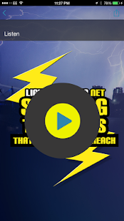 Lightningradio.net- screenshot thumbnail
