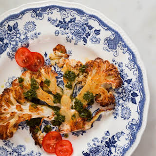 Roasted Cauliflower Steaks Recipes.