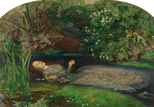 "Photo: John Everett Millais, ""Ophelia"" (1851–52), oil on canvas, 76.2 x 111.8 cm (30 x 44 in), Tate. via Shock of the Old: The Pre-Raphaelites Go Back to the Future by James Gibbons: http://ow.ly/kQaVC"