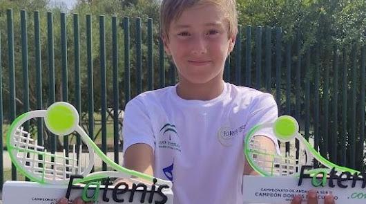 El tenista roquetero Darío Ruíz se proclama Campeón de Andalucía