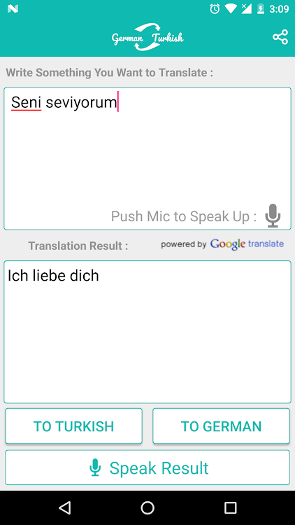German Turkish Translator Android Apps Appagg