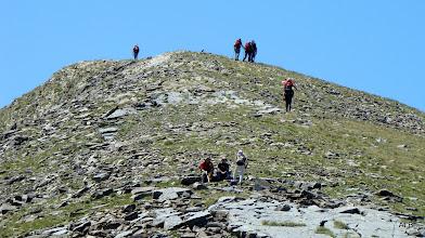 Photo: Un respiro antes de la siguiente cima.