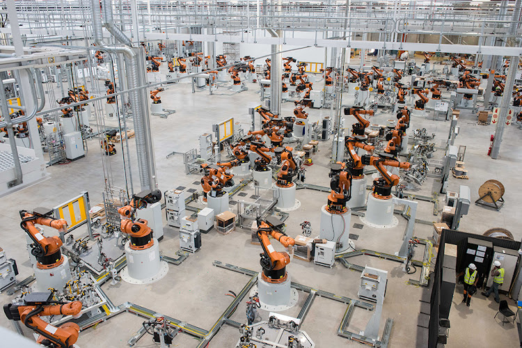 Following a R6.16bn investment by BMW Group SA, the Plant Rosslyn production facility has undergone a massive upgrade. Picture: SUPPLIED/BMW GROUP SA