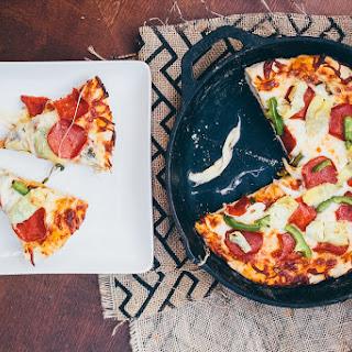 Crispy Skillet Pizza