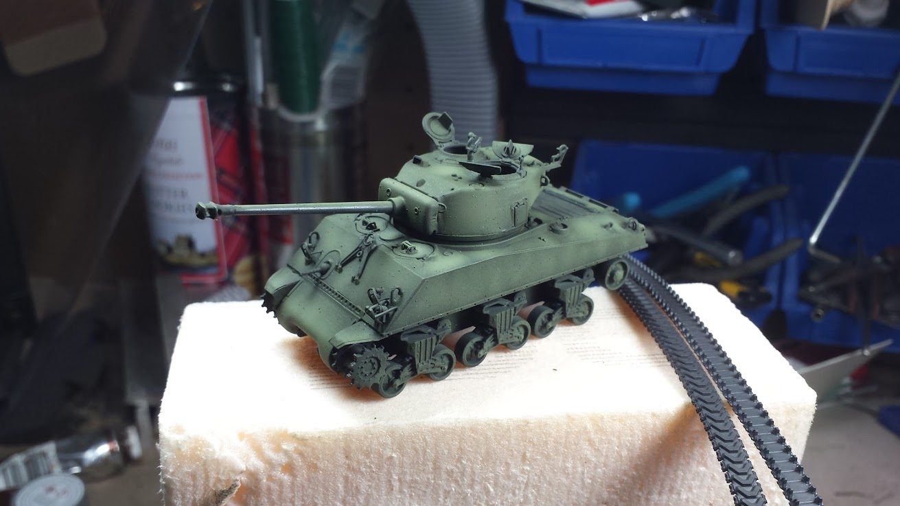 Build & Review: Dragon #7271 1/72 M4A3(76)W VVSS Sherman