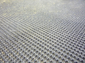 Photo: Treadmill surface.