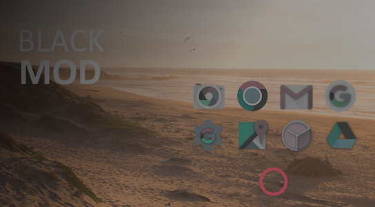 Nougat - Icon Pack PRO screenshot 2