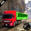 Cargo Truck - Long Trailer Truck Transport Driving icon