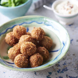 Ham And Manchego Croquettes.