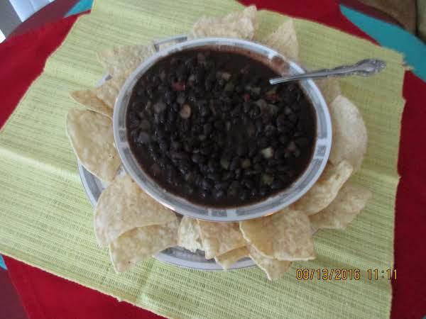 Black Beans In The Crockpot (sallye) Recipe