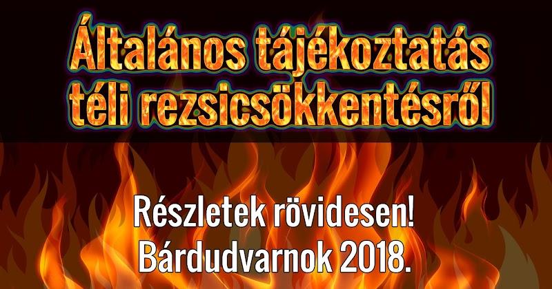 Általános tájékoztatás téli rezsicsökkentésről 2018 december