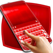 Red Chrome Keyboard Theme