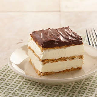 "Graham Cracker Eclair ""Cake""."