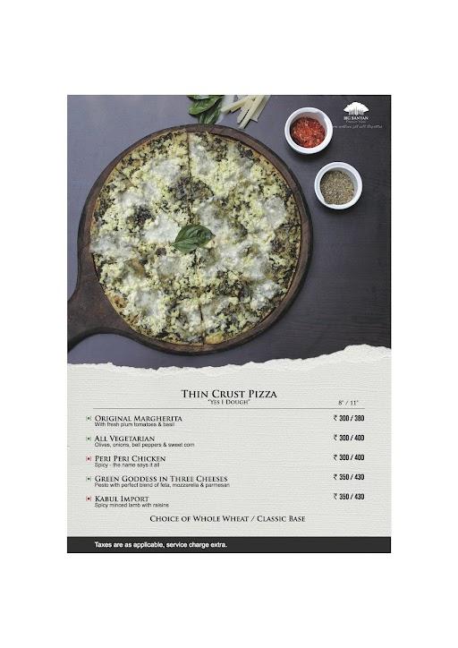 The Fat Chef menu 5
