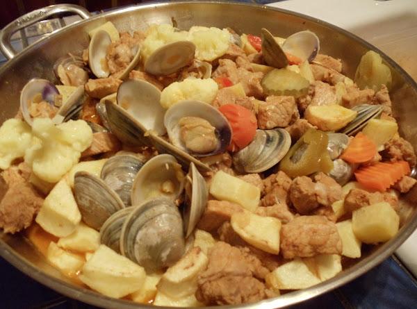 Carne De Porco Alentejana Recipe