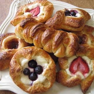 Sourdough Danish Pastry Dough.