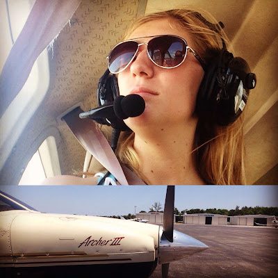 Stuart Jet Center Woman in Cessna | Krys Kolumbus Travel