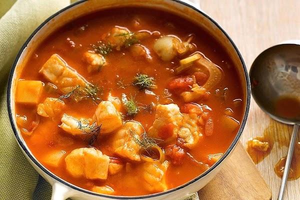Tomato-saffron Fish Stew Recipe