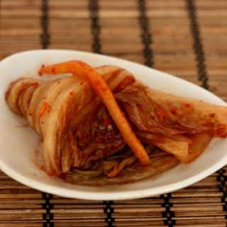 Kimchi Udon Chicken Soup.