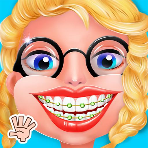 Nerdy Girl Dentist Doctor Game
