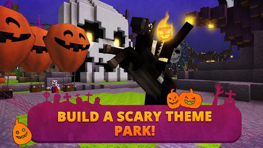 Scary Theme Park Craft: Spooky Horror Zombie Games 1.9-minApi19 screenshots 1