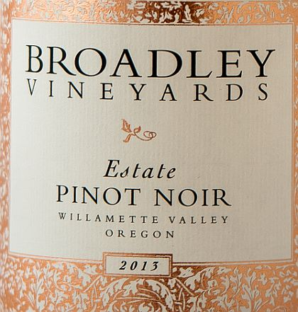 Logo for Broadley Vineyards - Pinot Noir