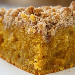 Pumpkin Crumb Coffee Cake.