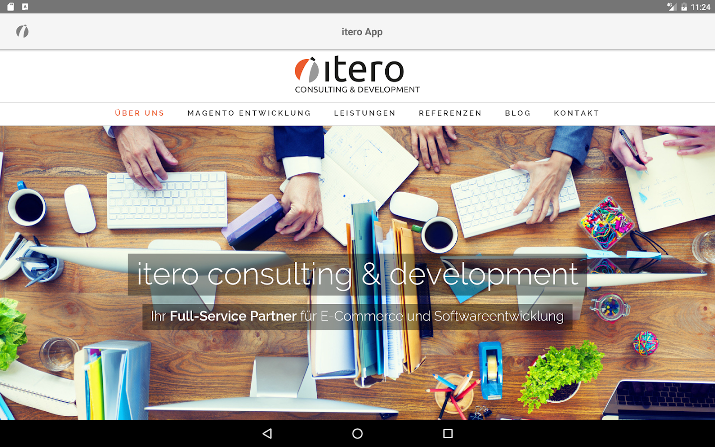 itero App- screenshot