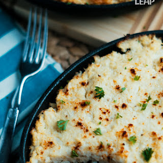 Keto Cauliflower Shepherd's Pie.