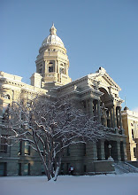 Photo: Wyoming State Capitol Building - Cheyenne, WY 12-09-03