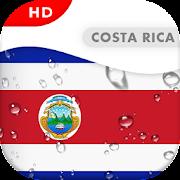 Costa Rica Flag 3D live wallpaper