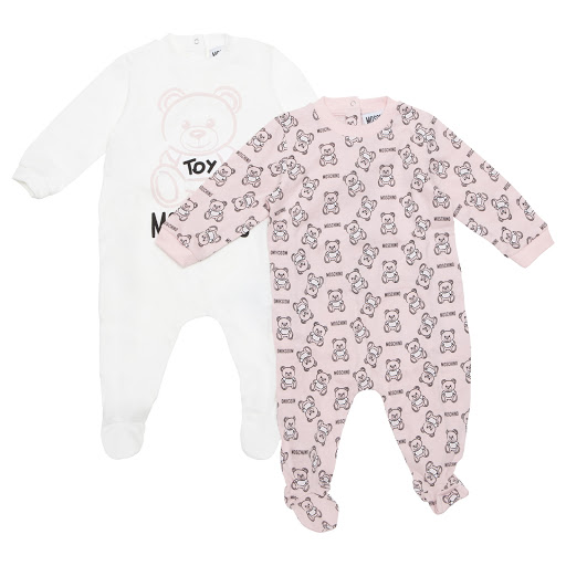 Primary image of Moschino Teddy Bear Babygrow Set