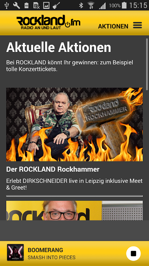 ROCKLAND.fm 2.0- screenshot