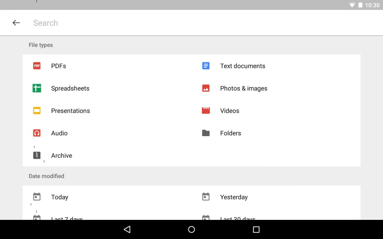 Google Drive screenshot #16