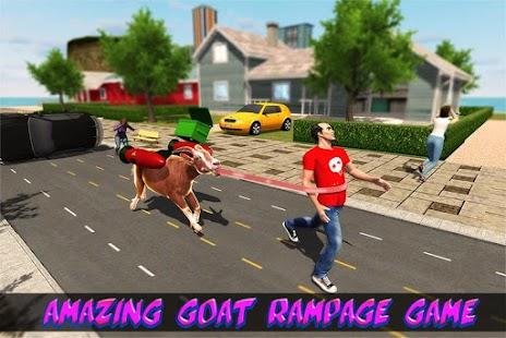 Wild Goat Frenzy City Rampage - náhled