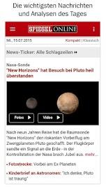 SPIEGEL ONLINE - News Screenshot 1
