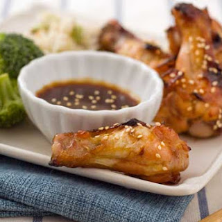 Gluten Free Sticky Wings.