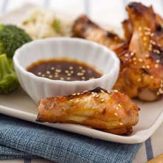 Gluten Free Sticky Wings.