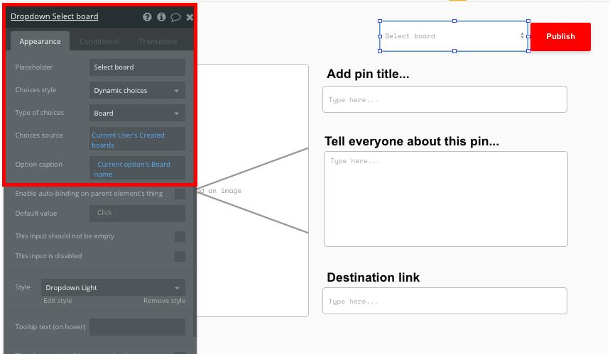 Criar um site tipo Pinterest Sem Codar