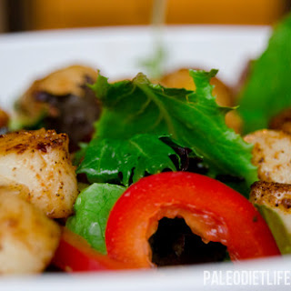 Spicy Scallop Salad