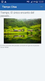 Download Tiempo Citas y frases famosas For PC Windows and Mac apk screenshot 16