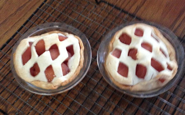 Cheaters Apple Tarts For Two Recipe