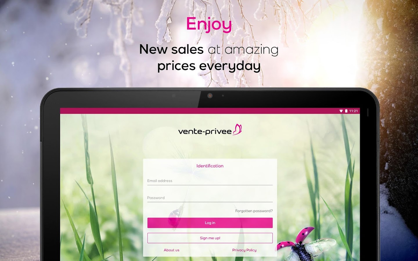 vente-privee- screenshot