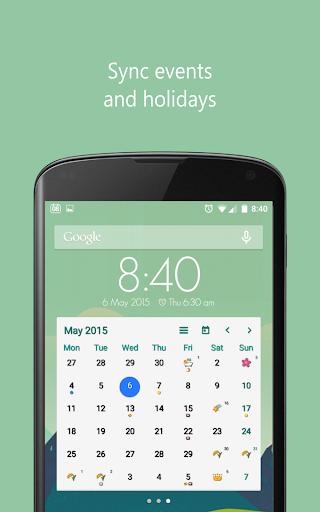 Calendar Widget Emoji