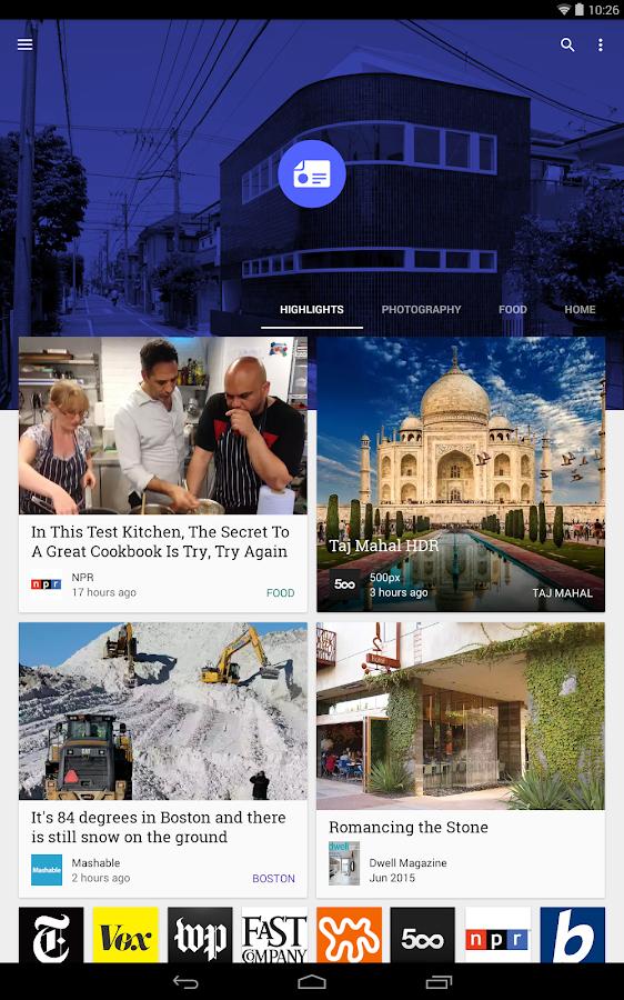 Google Play Newsstand - screenshot