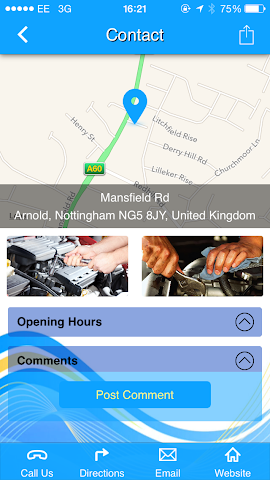 android Redhill Garage Ltd Screenshot 3